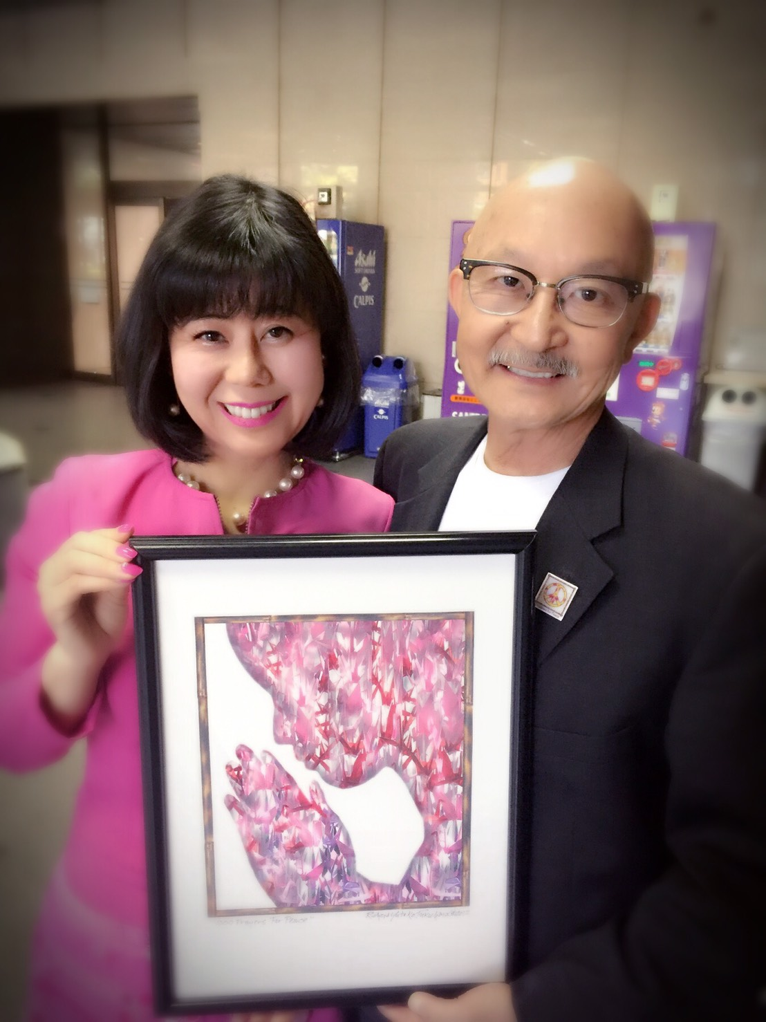 日系アメリカ人3世の写真家リチャード・フクハラさんが来日されました