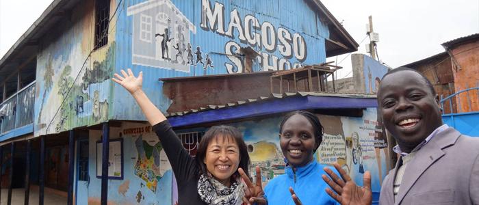 ケニアの孤児院にキセキのヒロシマを寄贈致しました