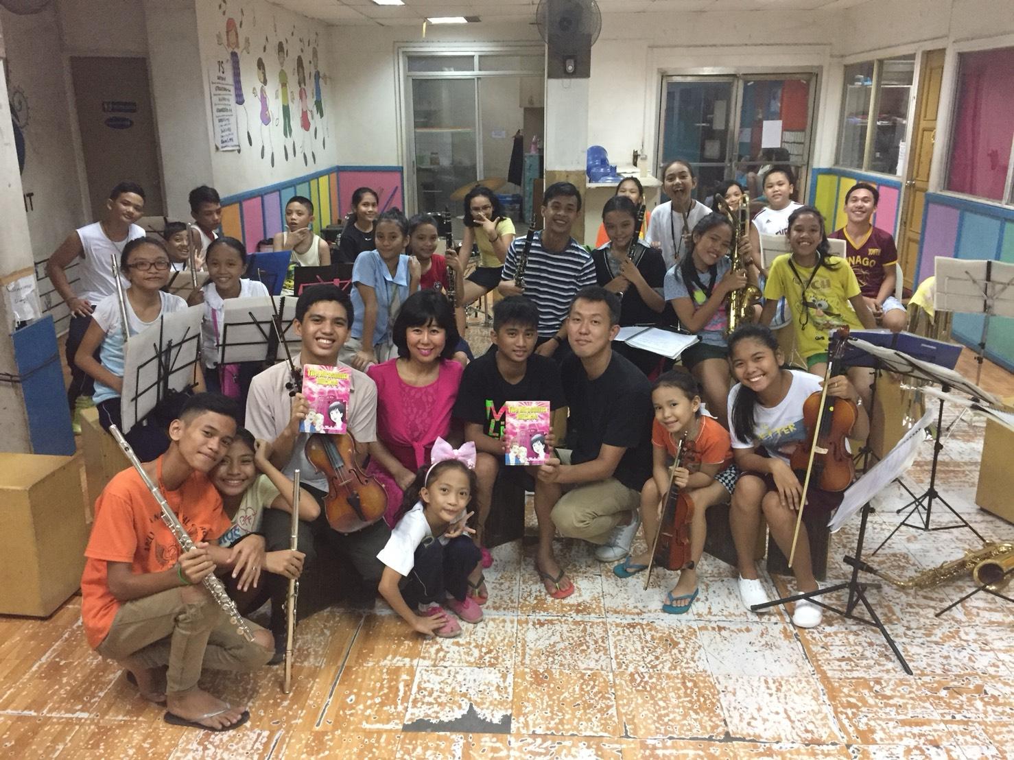 セブ島の子ども達から、感想と絵をお送りいただきました!