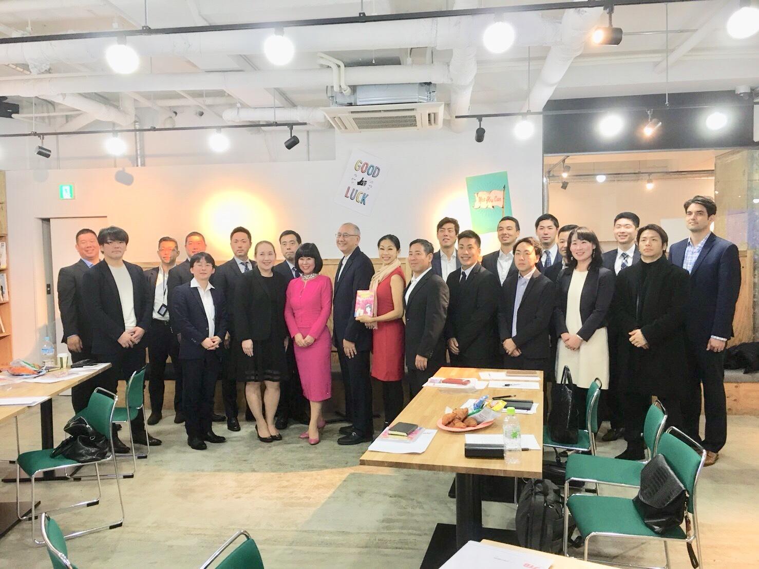 広島ハワイ次世代ビジネスリーダー・プログラムにて講演させて頂きました