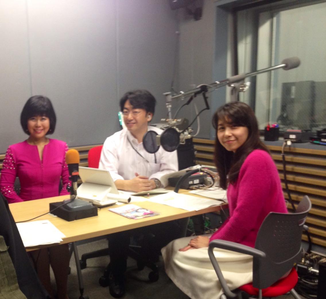 NHKのラジオに出演いたしました。